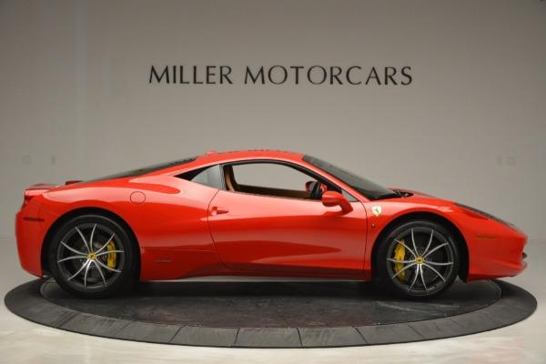 Used 2014 Ferrari 458 Italia for sale Sold at Alfa Romeo of Greenwich in Greenwich CT 06830 9