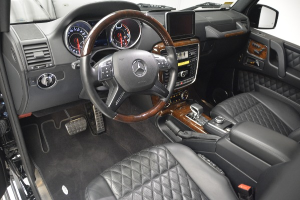 Used 2016 Mercedes-Benz G-Class AMG G 65 for sale Sold at Alfa Romeo of Greenwich in Greenwich CT 06830 14