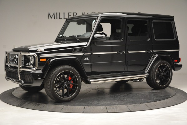 Used 2016 Mercedes-Benz G-Class AMG G 65 for sale Sold at Alfa Romeo of Greenwich in Greenwich CT 06830 2