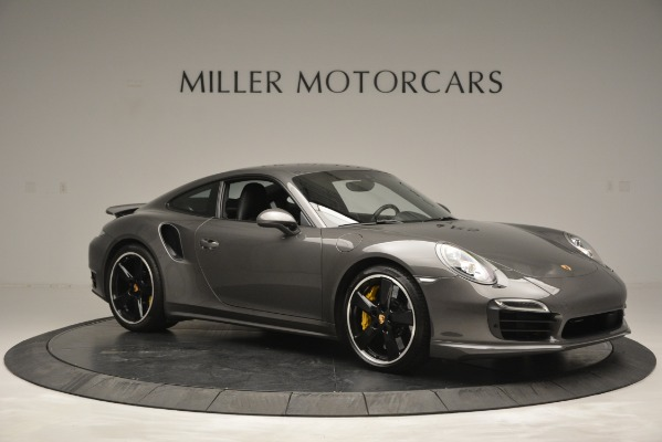 Used 2015 Porsche 911 Turbo S for sale Sold at Alfa Romeo of Greenwich in Greenwich CT 06830 10