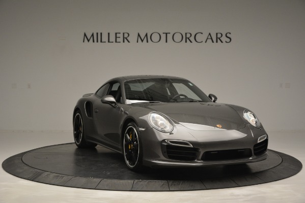 Used 2015 Porsche 911 Turbo S for sale Sold at Alfa Romeo of Greenwich in Greenwich CT 06830 11