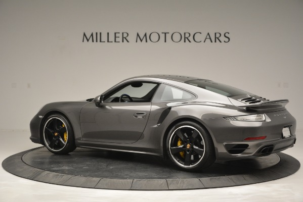 Used 2015 Porsche 911 Turbo S for sale Sold at Alfa Romeo of Greenwich in Greenwich CT 06830 4