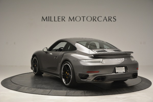 Used 2015 Porsche 911 Turbo S for sale Sold at Alfa Romeo of Greenwich in Greenwich CT 06830 5