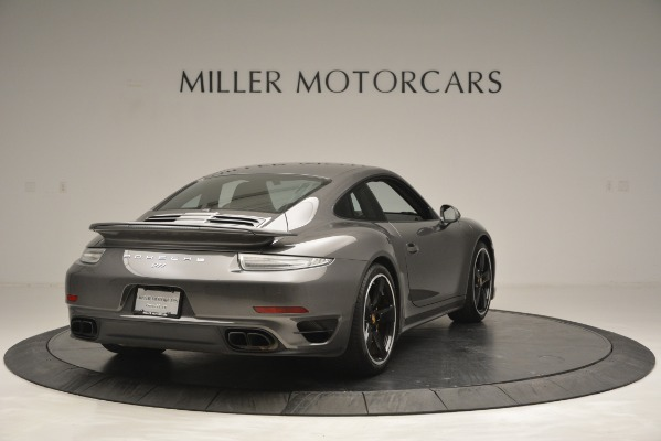 Used 2015 Porsche 911 Turbo S for sale Sold at Alfa Romeo of Greenwich in Greenwich CT 06830 7