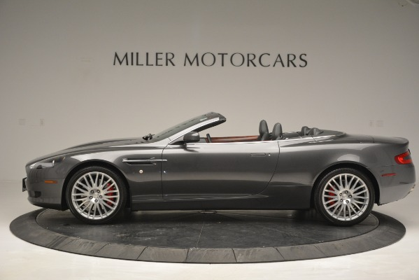 Used 2009 Aston Martin DB9 Convertible for sale Sold at Alfa Romeo of Greenwich in Greenwich CT 06830 3