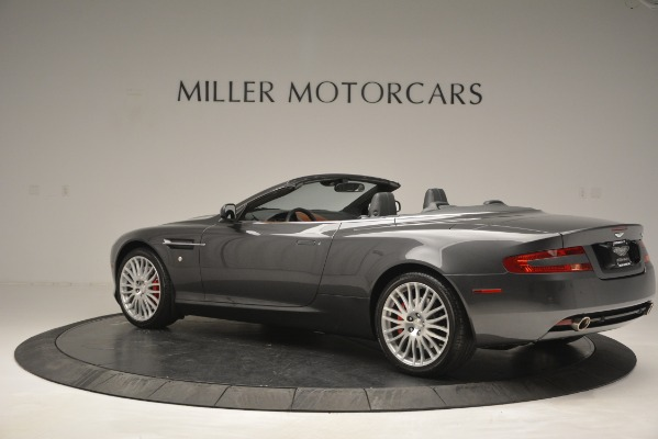 Used 2009 Aston Martin DB9 Convertible for sale Sold at Alfa Romeo of Greenwich in Greenwich CT 06830 4
