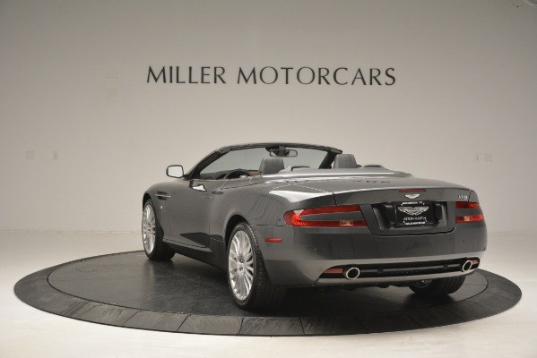 Used 2009 Aston Martin DB9 Convertible for sale Sold at Alfa Romeo of Greenwich in Greenwich CT 06830 5