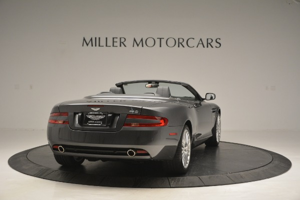 Used 2009 Aston Martin DB9 Convertible for sale Sold at Alfa Romeo of Greenwich in Greenwich CT 06830 7
