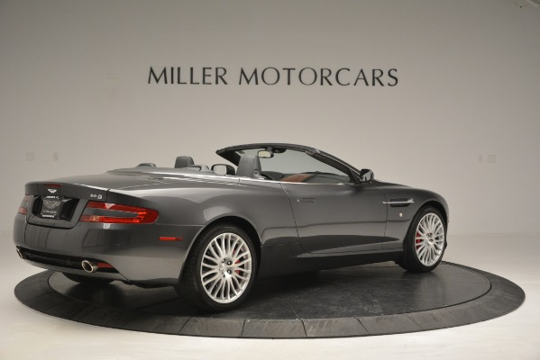 Used 2009 Aston Martin DB9 Convertible for sale Sold at Alfa Romeo of Greenwich in Greenwich CT 06830 8