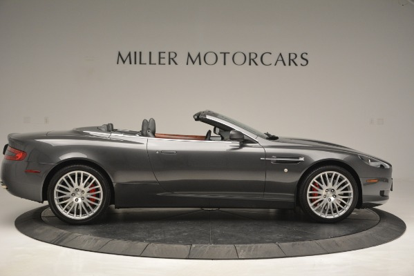 Used 2009 Aston Martin DB9 Convertible for sale Sold at Alfa Romeo of Greenwich in Greenwich CT 06830 9