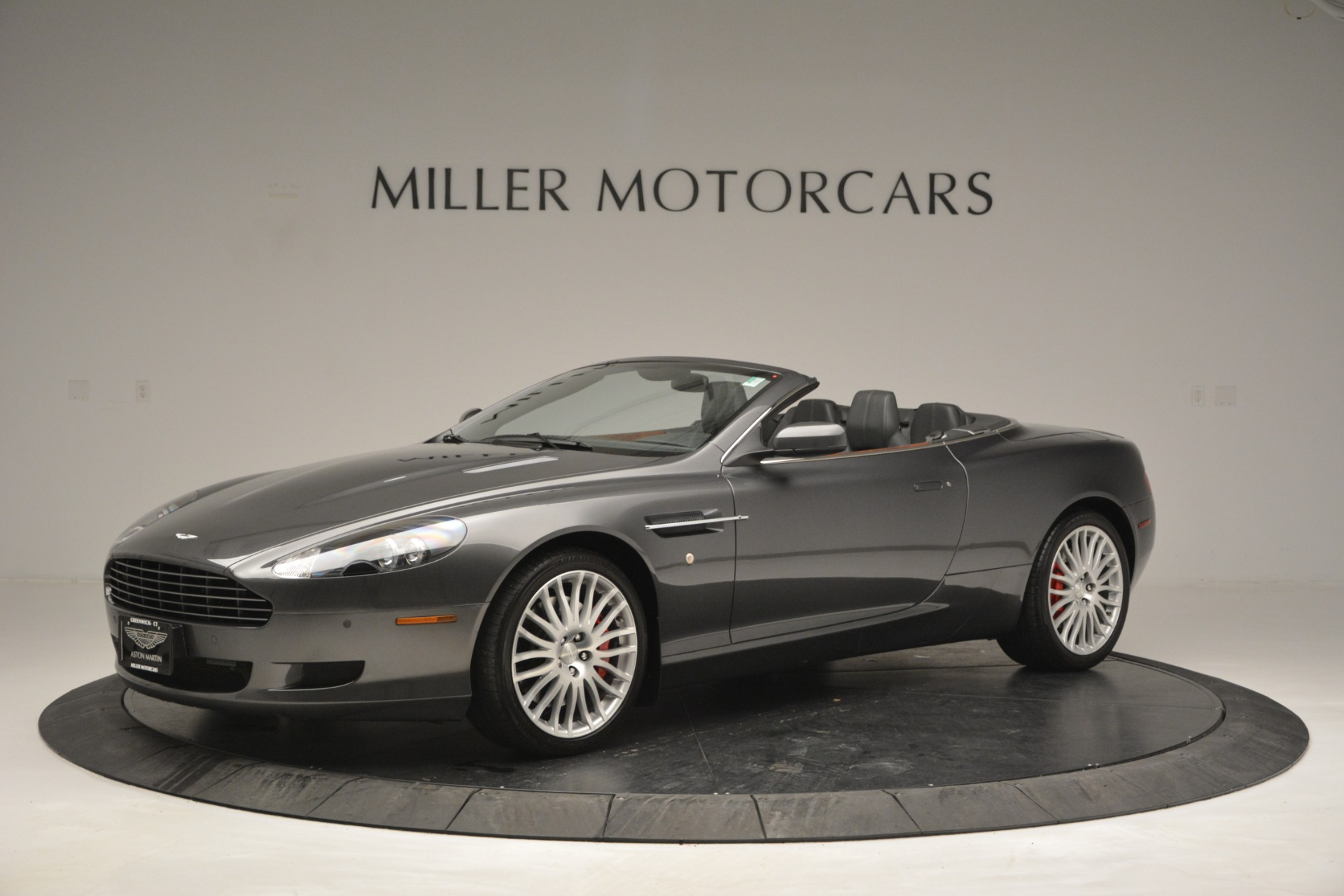 Used 2009 Aston Martin DB9 Convertible for sale Sold at Alfa Romeo of Greenwich in Greenwich CT 06830 1