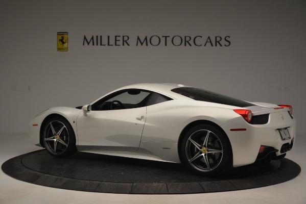 Used 2014 Ferrari 458 Italia for sale Sold at Alfa Romeo of Greenwich in Greenwich CT 06830 4