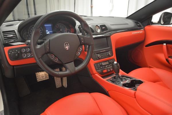Used 2017 Maserati GranTurismo Sport for sale Sold at Alfa Romeo of Greenwich in Greenwich CT 06830 26
