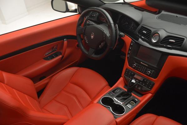 Used 2017 Maserati GranTurismo Sport for sale Sold at Alfa Romeo of Greenwich in Greenwich CT 06830 27