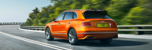 New 2020 Bentley Bentayga Speed for sale Sold at Alfa Romeo of Greenwich in Greenwich CT 06830 3