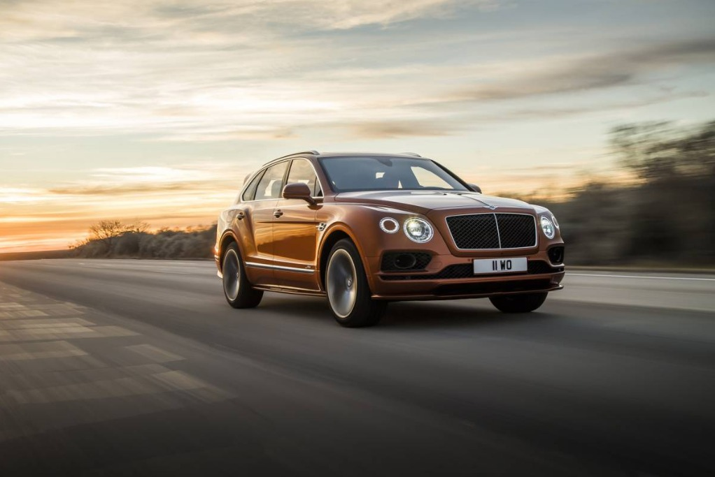 New 2020 Bentley Bentayga Speed for sale Sold at Alfa Romeo of Greenwich in Greenwich CT 06830 1