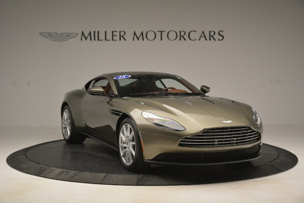 Used 2018 Aston Martin DB11 V12 Coupe for sale Sold at Alfa Romeo of Greenwich in Greenwich CT 06830 11