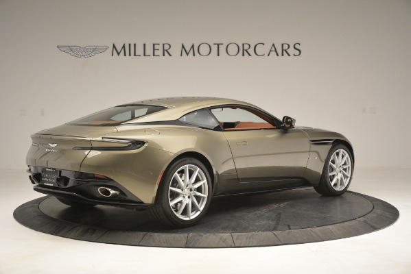 Used 2018 Aston Martin DB11 V12 Coupe for sale Sold at Alfa Romeo of Greenwich in Greenwich CT 06830 8