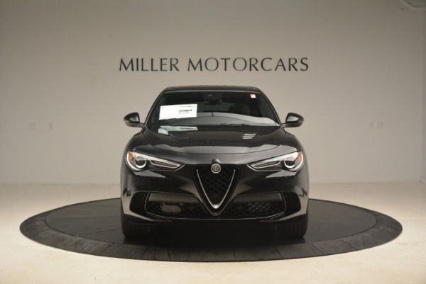 New 2019 Alfa Romeo Stelvio Quadrifoglio for sale $86,440 at Alfa Romeo of Greenwich in Greenwich CT 06830 12
