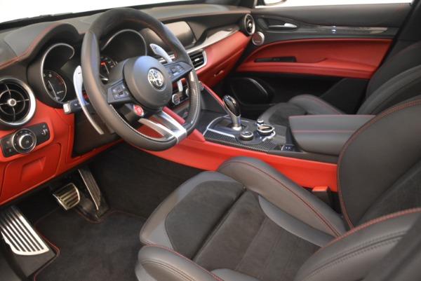 New 2019 Alfa Romeo Stelvio Quadrifoglio for sale $86,440 at Alfa Romeo of Greenwich in Greenwich CT 06830 13