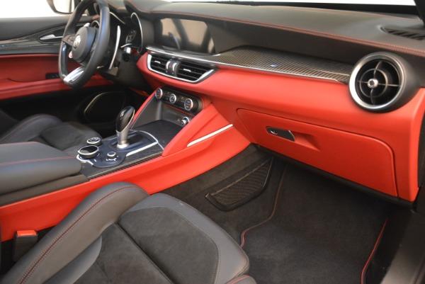 New 2019 Alfa Romeo Stelvio Quadrifoglio for sale $86,440 at Alfa Romeo of Greenwich in Greenwich CT 06830 19