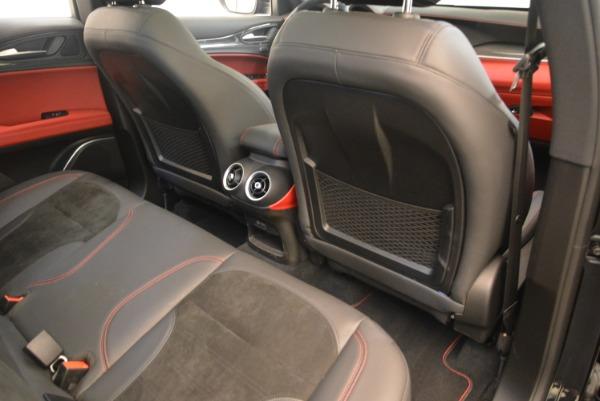 New 2019 Alfa Romeo Stelvio Quadrifoglio for sale $86,440 at Alfa Romeo of Greenwich in Greenwich CT 06830 22