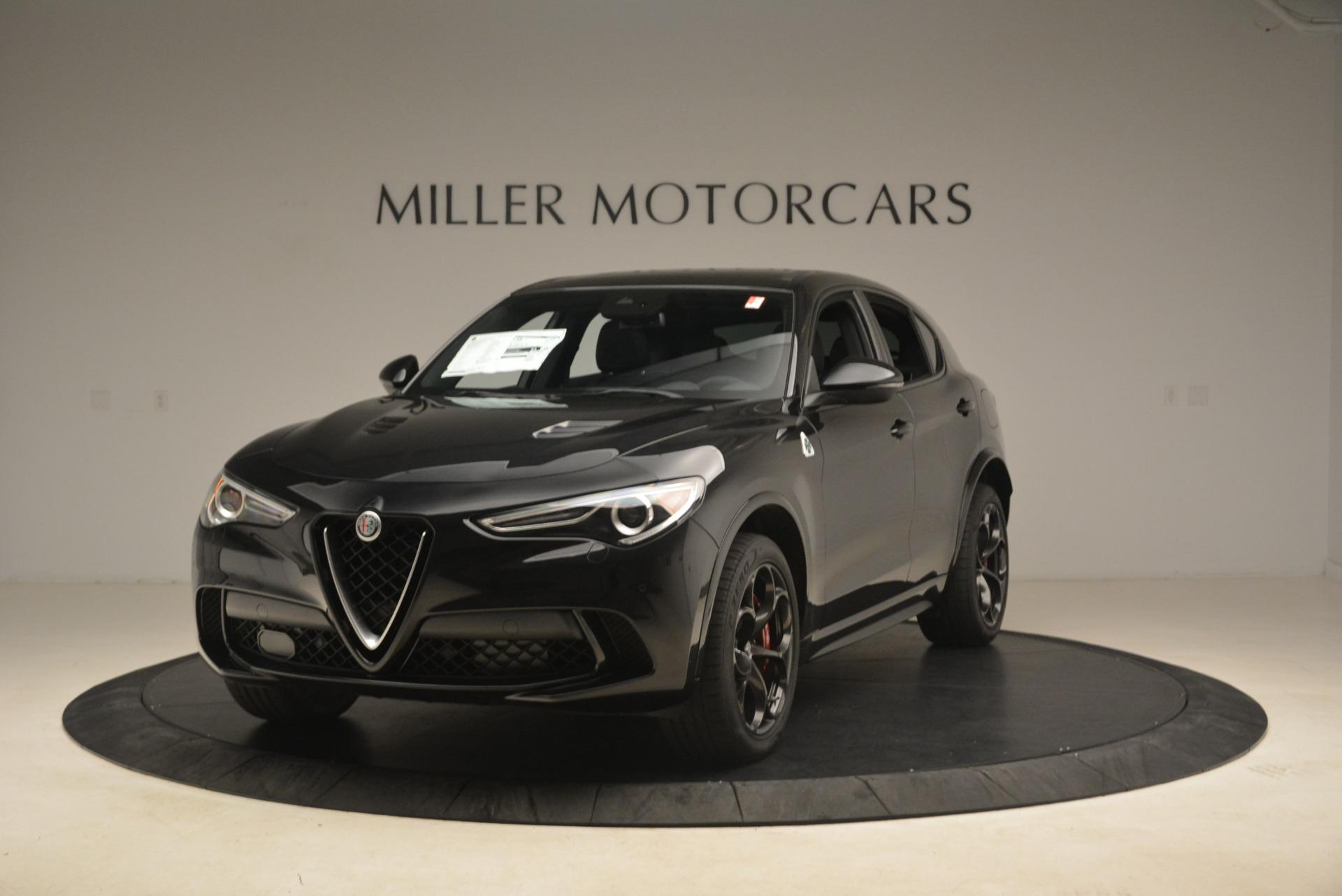 New 2019 Alfa Romeo Stelvio Quadrifoglio for sale $86,440 at Alfa Romeo of Greenwich in Greenwich CT 06830 1