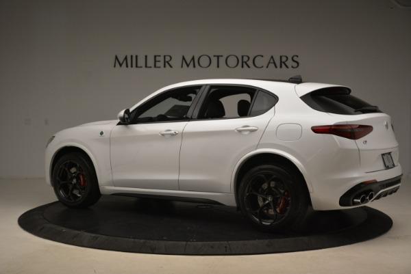 Used 2019 Alfa Romeo Stelvio Quadrifoglio for sale Sold at Alfa Romeo of Greenwich in Greenwich CT 06830 4