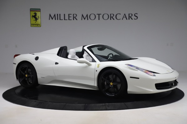 Used 2015 Ferrari 458 Spider for sale Sold at Alfa Romeo of Greenwich in Greenwich CT 06830 10