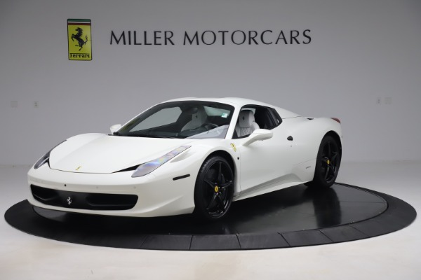 Used 2015 Ferrari 458 Spider for sale Sold at Alfa Romeo of Greenwich in Greenwich CT 06830 13