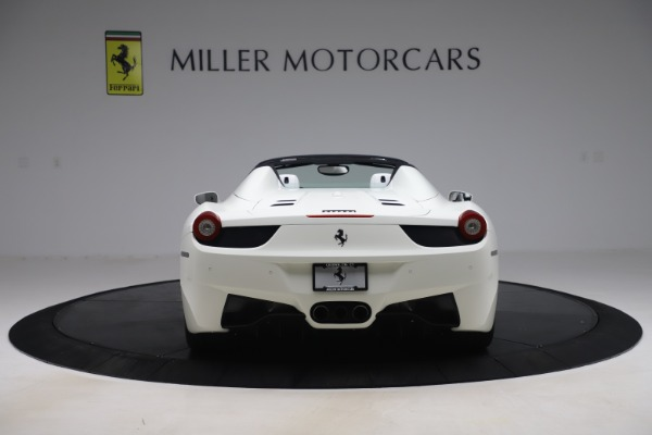 Used 2015 Ferrari 458 Spider for sale Sold at Alfa Romeo of Greenwich in Greenwich CT 06830 6