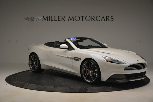 Used 2015 Aston Martin Vanquish Convertible for sale Sold at Alfa Romeo of Greenwich in Greenwich CT 06830 10