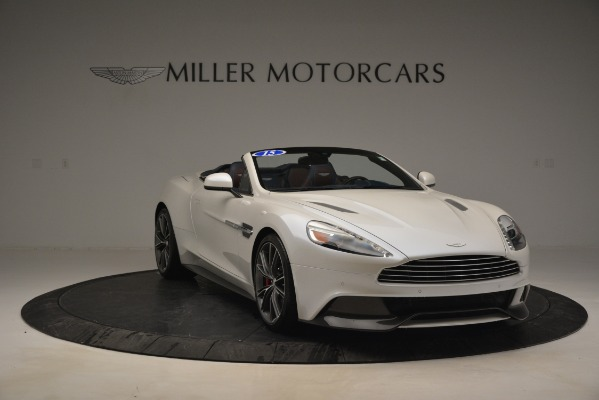 Used 2015 Aston Martin Vanquish Convertible for sale Sold at Alfa Romeo of Greenwich in Greenwich CT 06830 11