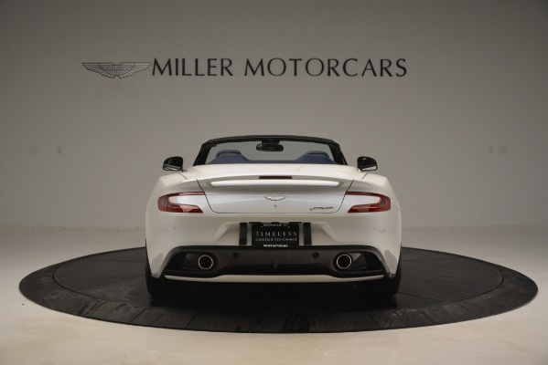 Used 2015 Aston Martin Vanquish Convertible for sale Sold at Alfa Romeo of Greenwich in Greenwich CT 06830 6