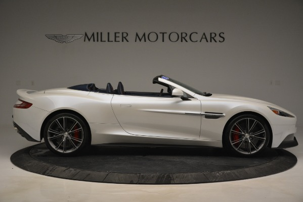 Used 2015 Aston Martin Vanquish Convertible for sale Sold at Alfa Romeo of Greenwich in Greenwich CT 06830 9