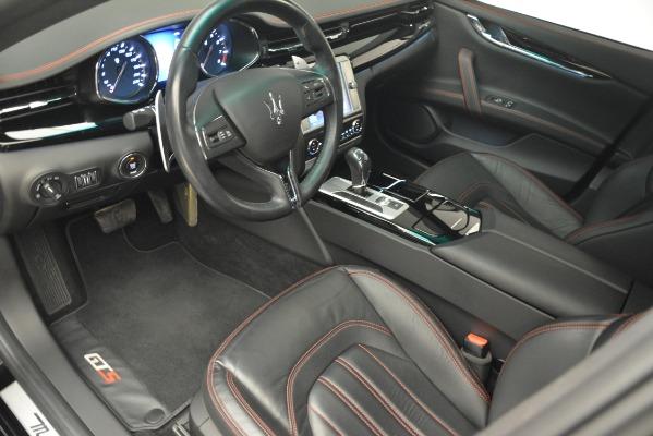 Used 2015 Maserati Quattroporte GTS for sale Sold at Alfa Romeo of Greenwich in Greenwich CT 06830 14