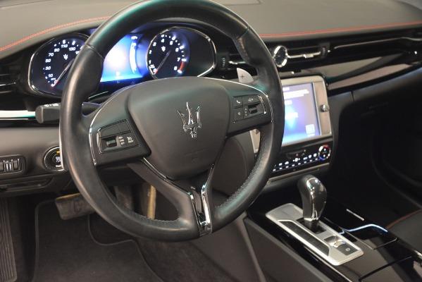 Used 2015 Maserati Quattroporte GTS for sale Sold at Alfa Romeo of Greenwich in Greenwich CT 06830 15