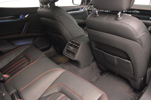 Used 2015 Maserati Quattroporte GTS for sale Sold at Alfa Romeo of Greenwich in Greenwich CT 06830 22