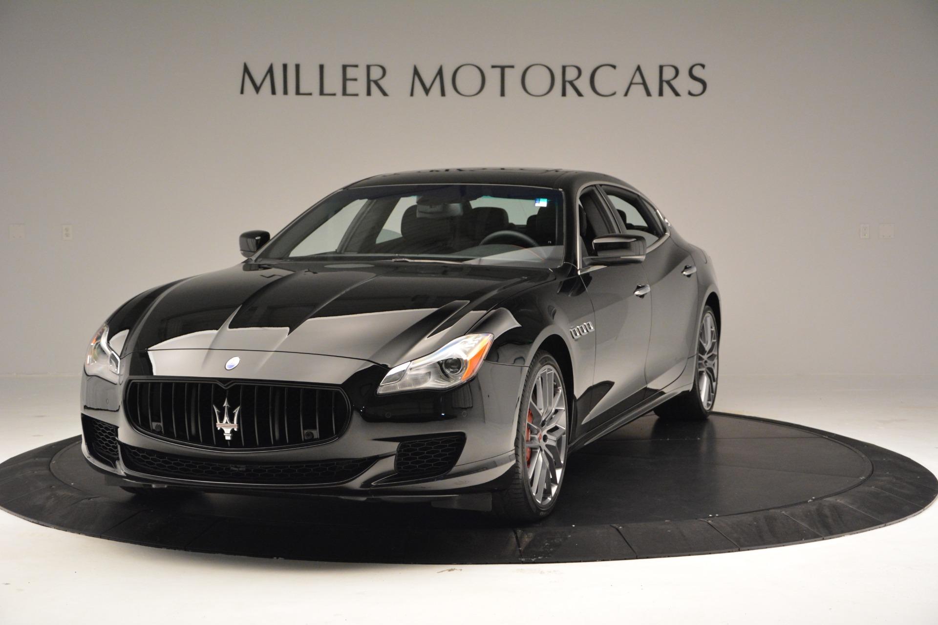 Used 2015 Maserati Quattroporte GTS for sale Sold at Alfa Romeo of Greenwich in Greenwich CT 06830 1