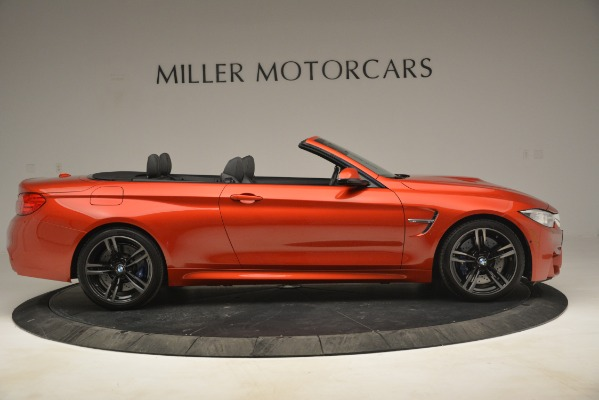 Used 2016 BMW M4 for sale Sold at Alfa Romeo of Greenwich in Greenwich CT 06830 10