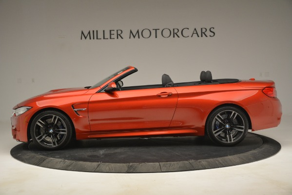 Used 2016 BMW M4 for sale Sold at Alfa Romeo of Greenwich in Greenwich CT 06830 3