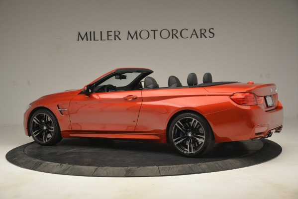 Used 2016 BMW M4 for sale Sold at Alfa Romeo of Greenwich in Greenwich CT 06830 4