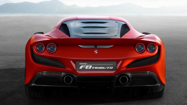 New 2020 Ferrari F8 Tributo for sale Call for price at Alfa Romeo of Greenwich in Greenwich CT 06830 5