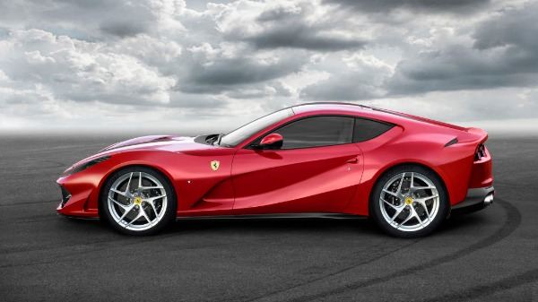 New 2021 Ferrari 812 Superfast for sale Call for price at Alfa Romeo of Greenwich in Greenwich CT 06830 2