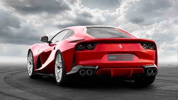 New 2020 Ferrari 812 Superfast for sale Call for price at Alfa Romeo of Greenwich in Greenwich CT 06830 3