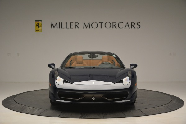 Used 2014 Ferrari 458 Spider for sale Sold at Alfa Romeo of Greenwich in Greenwich CT 06830 12