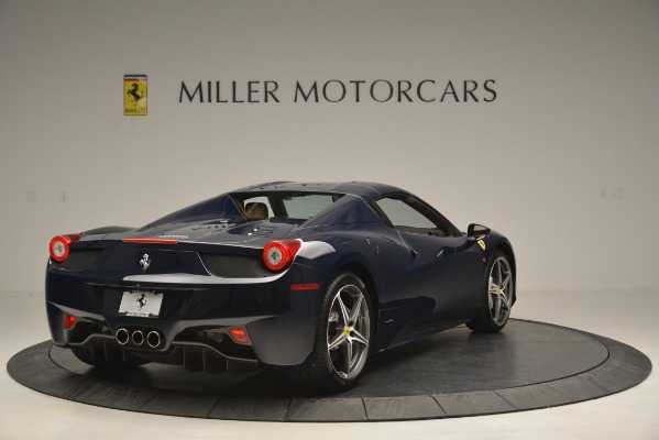 Used 2014 Ferrari 458 Spider for sale Sold at Alfa Romeo of Greenwich in Greenwich CT 06830 19