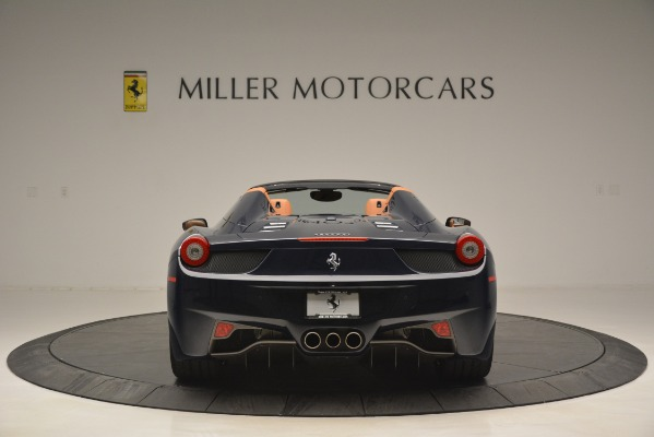 Used 2014 Ferrari 458 Spider for sale Sold at Alfa Romeo of Greenwich in Greenwich CT 06830 6