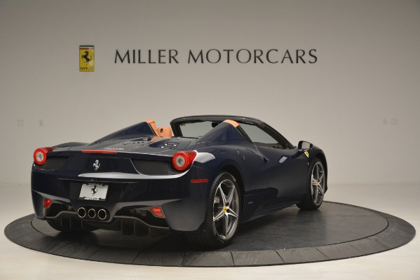 Used 2014 Ferrari 458 Spider for sale Sold at Alfa Romeo of Greenwich in Greenwich CT 06830 7