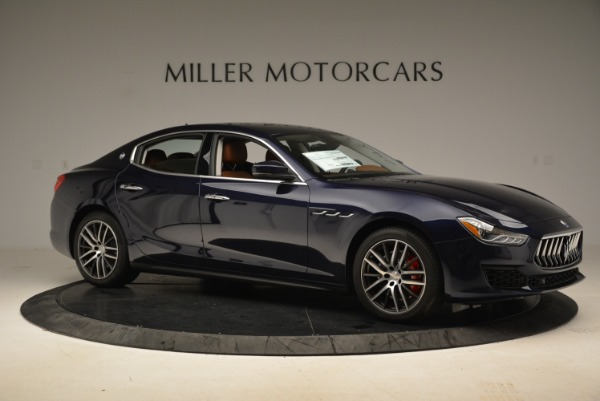 Used 2019 Maserati Ghibli S Q4 for sale Sold at Alfa Romeo of Greenwich in Greenwich CT 06830 10